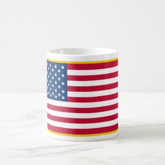 United States Gold Fringed Admiralty Maritime Flag Coffee Mug