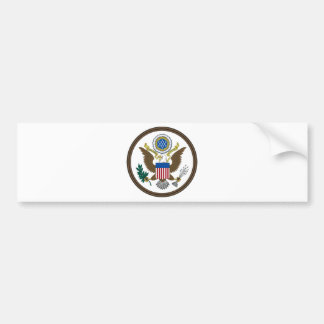 United States Great Seal Bumper Sticker