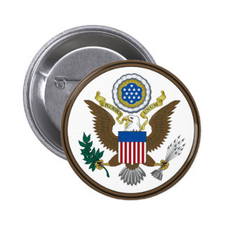 United States Great Seal Button