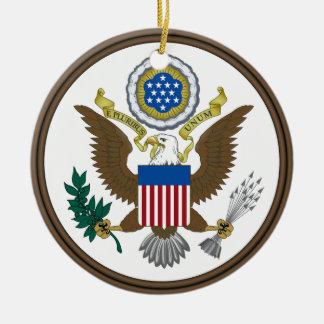United States Great Seal Ceramic Ornament