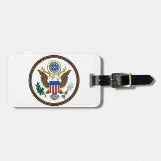 United States Great Seal Travel Bag Tag