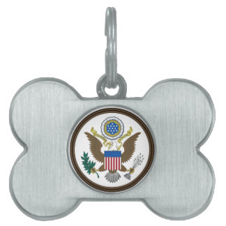 United States Great Seal Pet ID Tag