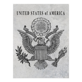 UNITED STATES GREAT SEAL POSTER