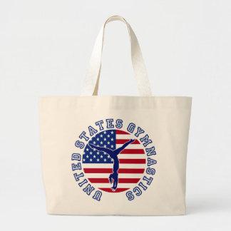 United States Gymnastics Jumbo Tote Bag