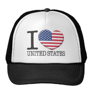 United States Trucker Hat