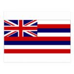 United States Hawaii Flag Postcard