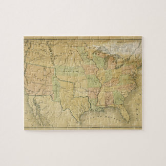 United States Including Western Territories 1848 Jigsaw Puzzle