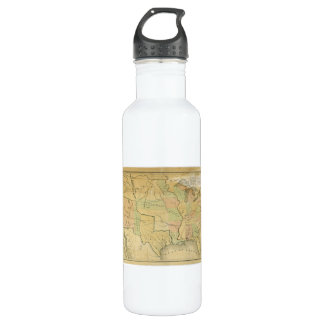 United States Including Western Territories 1848 24oz Water Bottle