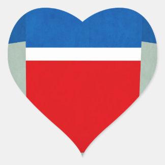 United_States.jpg Pegatina En Forma De Corazón