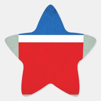 United_States.jpg Pegatina En Forma De Estrella