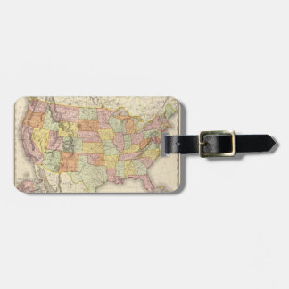 United States. Tag For Luggage