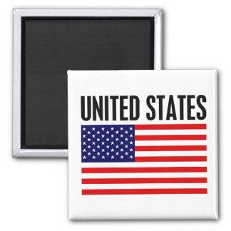 United States Refrigerator Magnets