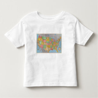 United States Map 3 Tshirts