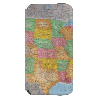 United States Map 3 Incipio Watson™ iPhone 6 Wallet Case