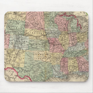 United States Map by Mitchell Mouse Pad