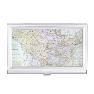 UNITED STATES MAP, c1812 Business Card Holder