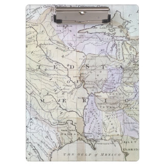 UNITED STATES MAP, c1812 Clipboard