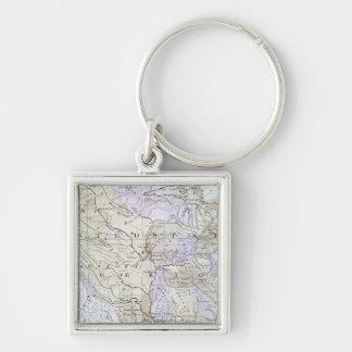UNITED STATES MAP, c1812 Keychain