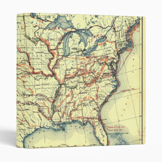 United States Map Explorer Routes 1501 to 1844 Binder
