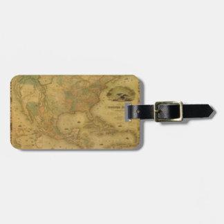 United States Map Luggage Tag