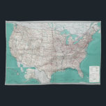 """United States Map Towel<br><div class=""""desc"""">United States Map</div>"""