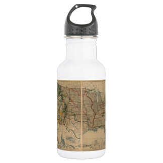 United States Map with Territories (1923) 18oz Water Bottle