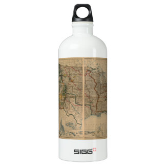 United States Map with Territories (1923) SIGG Traveler 1.0L Water Bottle