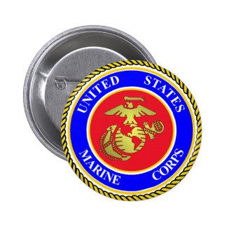 United States Marine Corps Pinback Button