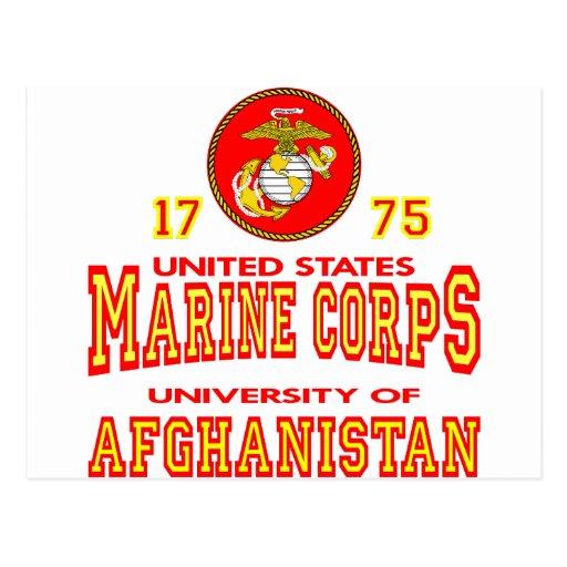United States Marine Corps University Afghanistan Postcard ...