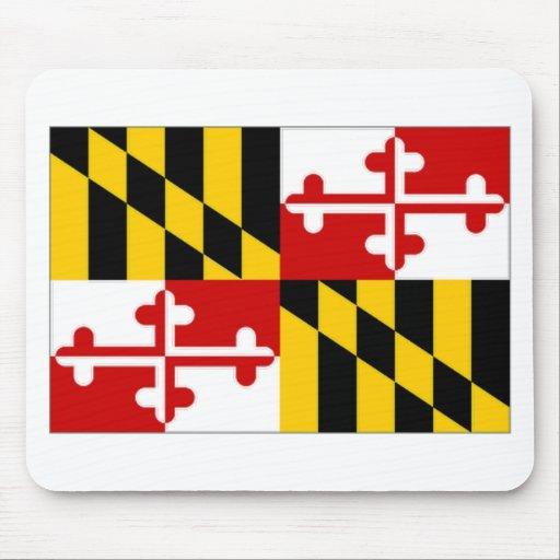 United States Maryland Flag Mouse Pad