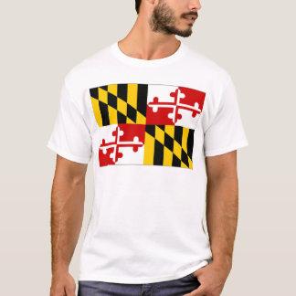 United States Maryland Flag T-Shirt