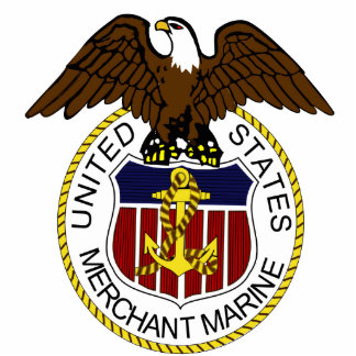 United States Merchant Marine Seal Sailors Cutout