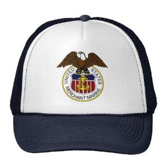 United States Merchant Marine Seal Sailors Trucker Hat