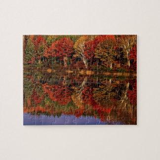 United States, Michigan, Upper Peninsula. Fall Jigsaw Puzzle