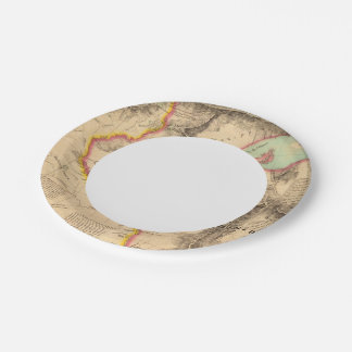 United States Mid west 41 Paper Plate
