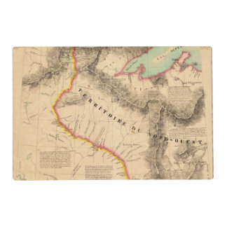 United States Mid west 41 Placemat