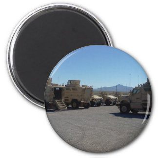 UNITED STATES MILITARY ARMOR 2 INCH ROUND MAGNET