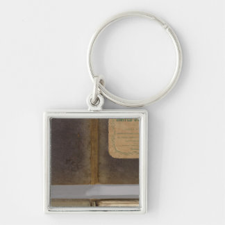 United States military map Keychains