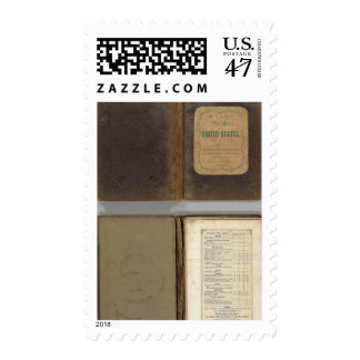 United States military map Postage