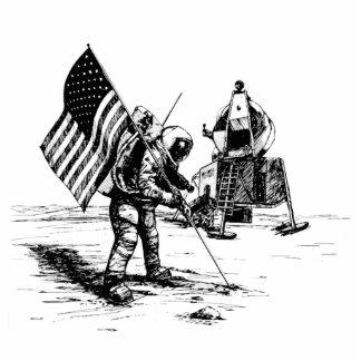 United States Moon Landing Cutout