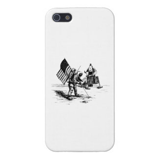 United States Moon Landing iPhone SE/5/5s Case