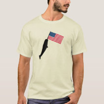 United States Narwhal T-Shirt