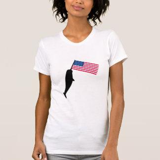 United States Narwhal Tshirt