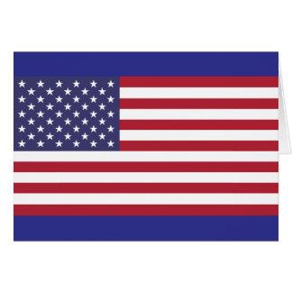 United States National Flag Card