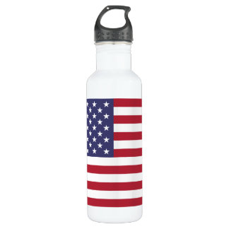 United States National Flag Water Bottle