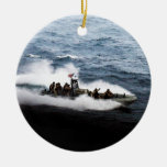 United States Navy Rigid Hull Inflatable Boat Christmas Ornaments
