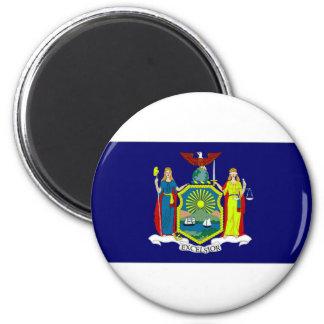 United States New York Flag Magnet