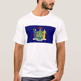 United States New York Flag T-Shirt