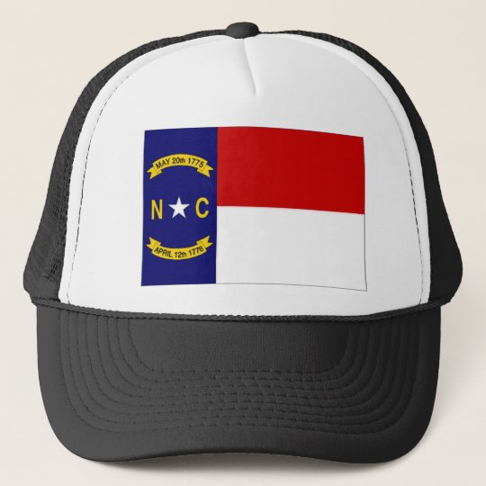 United States North Carolina Flag Trucker Hat