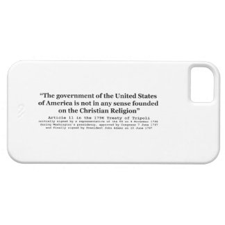 United States Not Founded on Christian Religion iPhone SE/5/5s Case